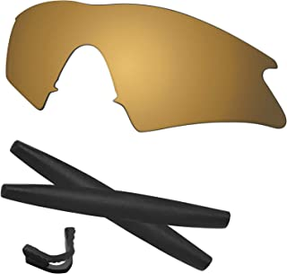 Predrox M Frame Sweep Lenses & Rubber Kits Replacement for Oakley Polarized