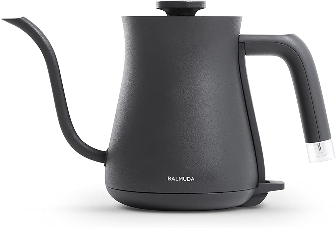 BALMUDA Electric Kettle The Pot K02A BK Black