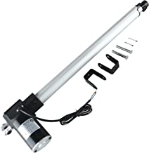 Homend DC 12V 18 Inch Stroke Linear Actuator with Mounting Bracket 450MM 6000N/1320LB Maximum Load for Recliner TV Table Lift Massage Bed Electric Sofa Linear Actuator