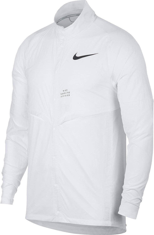 Nike Run Division Men's Running Jacket (White, Large)