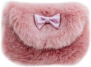 Mochilas Infantiles Bolso Bandolera para niñas Bolsa Pequeña de Hombro Bolsos de la Princesa para Kindergarten 3-6 Años Color Rosa y Púrpura