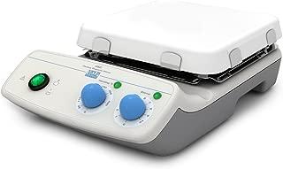 VELP Scientific F20510101 HSC Heating Magnetic Stirrer, White Ceramic Hot Plate, Maximum Temperature 400 Degree C, 15 L Stirring Volume, Up to 1300 RPM, 115V/60 Hz