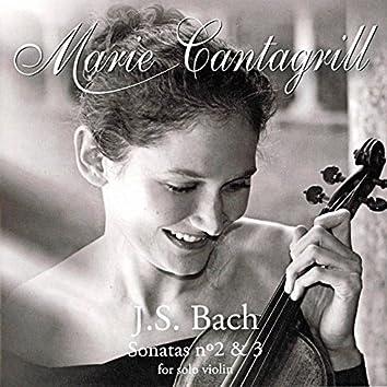 Bach: Violin Sonata No. 2, BWV 1003 & Violin Sonata No. 3, BWV 1005