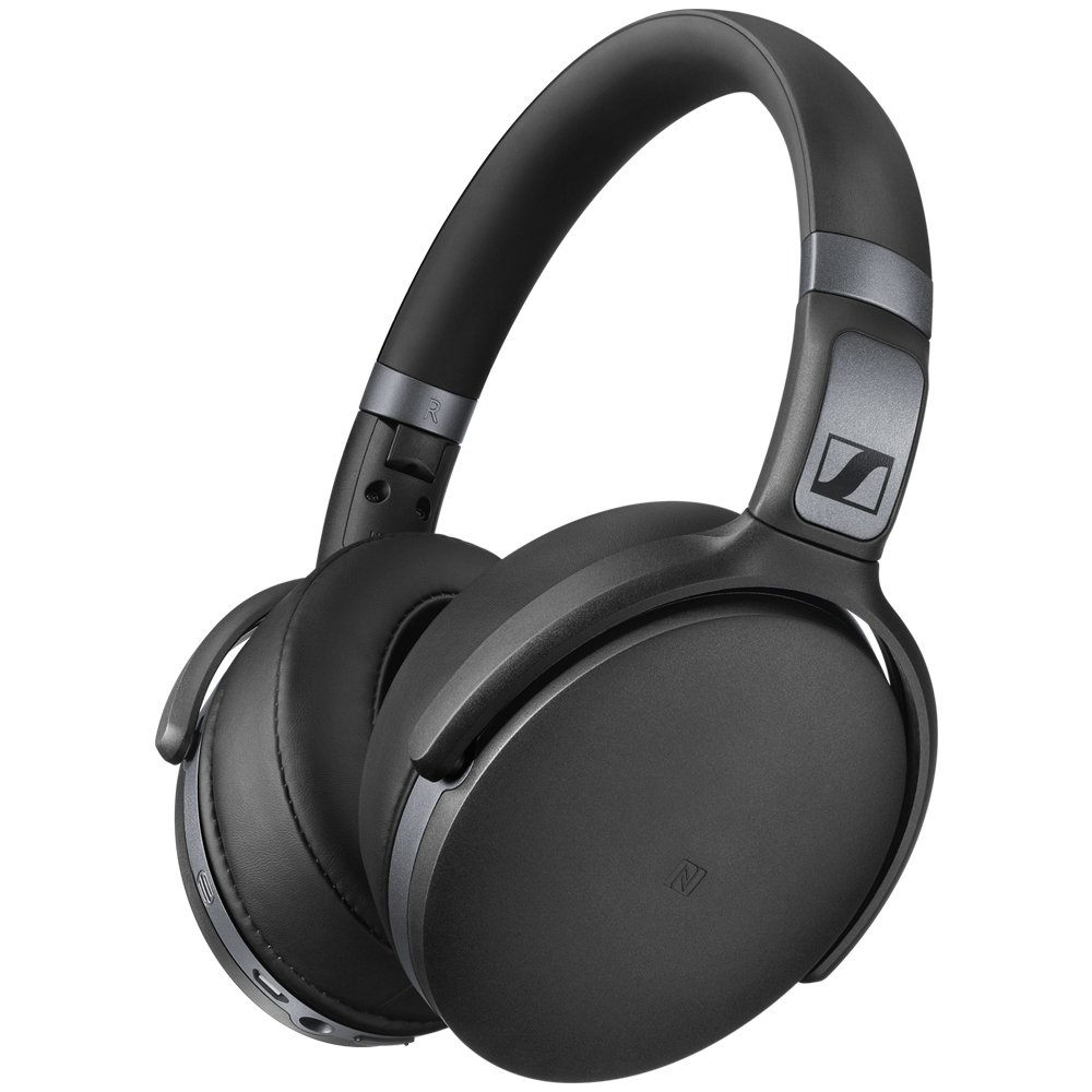 Amazon Com Sennheiser Hd 4 40 Around Ear Bluetooth Wireless Headphones Black Electronics