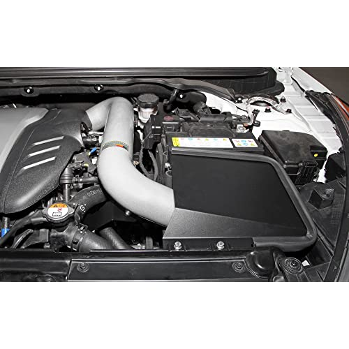 K&N Performance Cold Air Intake Kit 69-5312TS with Lifetime Filter for Hyundai Veloster Turbo