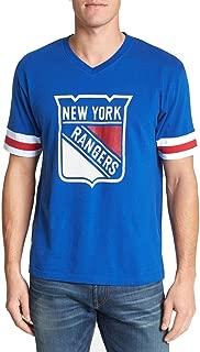 Wright & Ditson New York Rangers NHL Men's Hat Trick T-Shirt by