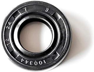 EAI VITON Metric Oil Shaft Seal 10x22x6mm Dust Grease TC Double Lip w// Spring