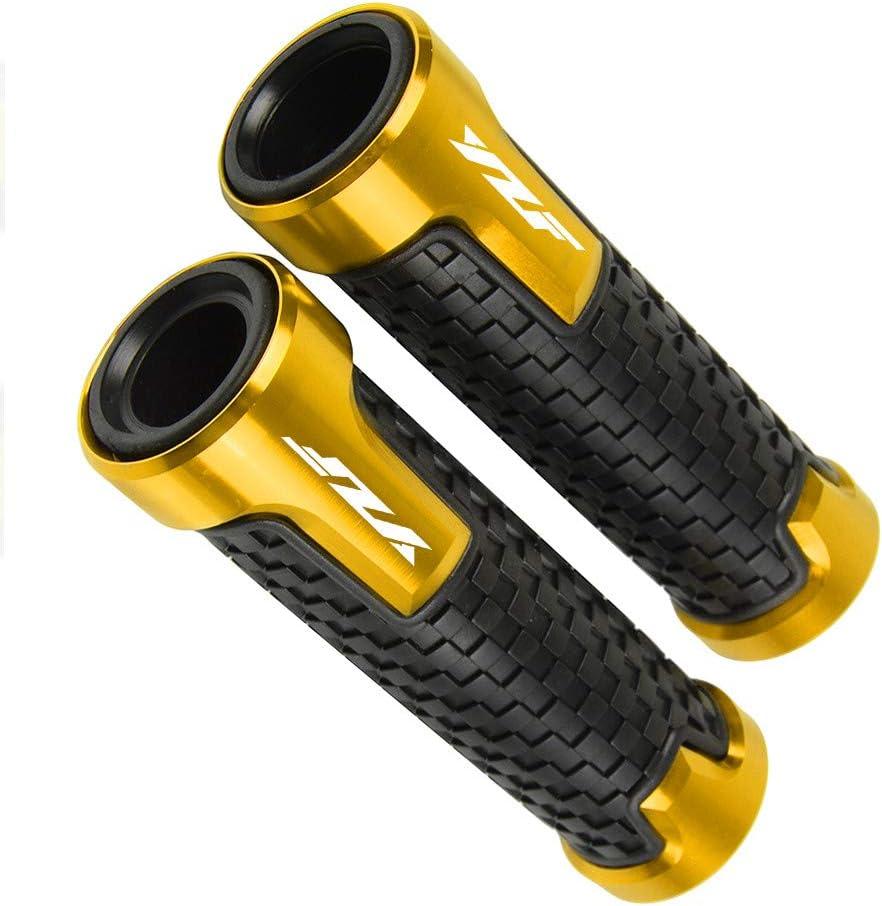 Azul Pu/ños de manillar antideslizantes para YAMA HA YZF R1 R3 R6 R15 R25 1999-2019 Accesorios universales de motocicleta de agarre manual de barra de manillar de 7//822 mm