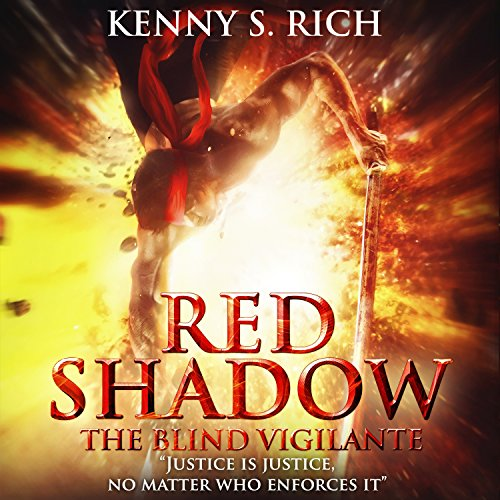 Red Shadow - The Blind Vigilante audiobook cover art