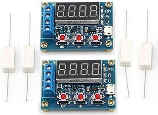 HiLetgo 2個セット ZB2L3 電池容量試験機 外部負荷放電タイプモジュール 1.2-12V 18650バッテリ使用可能