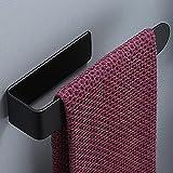 zunto adesivo porta asciugamani portasciugamani anelli portasciugamani senza foratura per bagno e cucina in acciaio inox nero