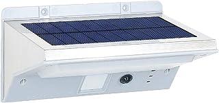 comprar comparacion Lumi Jardin Derby W11 - Foco solar 21 LED para exterior impermeable, luz con detector de movimiento, acero inoxidable cepi...