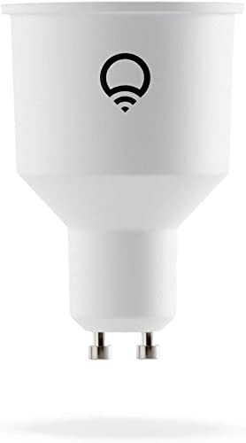 LIFX Colour GU10 (International), Adjustable, Multicolour, Dimmable, No Hub Required, Works with Alexa, Apple HomeKit...