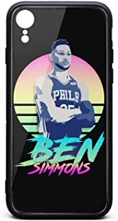3D Phone Cases for iPhone Xr Non-Slip Shockproof Ultra Slim Fashionable Perfectly Fit Tempered Glass Back Covers Durable PC TPU Scratch Resistant Shockproof Glossy