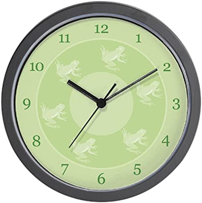 CafePress - Little Frogs Wall Clock - Unique Decorative 10