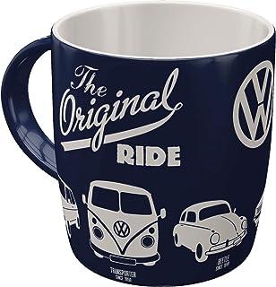 Nostalgic-Art VW The Original Ride Taza, cerámica, carbón, 8.5 x 13 x 9 cm