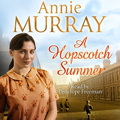 A Hopscotch Summer audiobook cover art