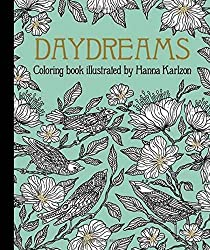 Dagdrömmar Daydreams coloring book by swedish artist illustrator hanna karlzon