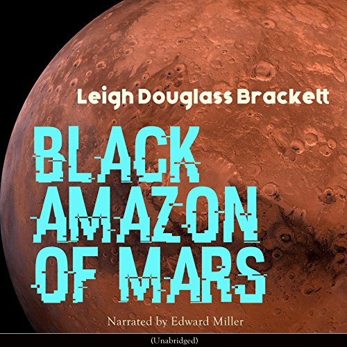 Black Amazon of Mars audiobook cover art