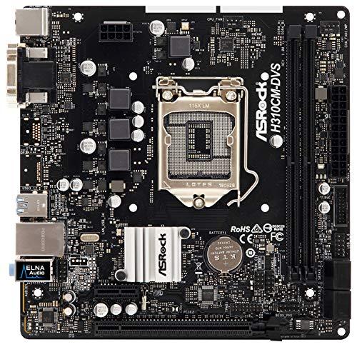MB Asrock H310CM-DVS 1151m ATX D Sub/DVI DDR4Retail–Micro/Mini/Flex ATX, a0uayz 90mxb8K0