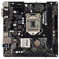 ASRock H310CM-DVS S1151 Intel H310 Max32GB DDR4 PCIE DVI-D&D-Sub mATX Motherboard