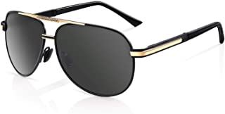 Men Premium Classic Aviator Polarized Sunglasses 100% UV Protection Sun Glasses Shades