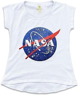 Camiseta T-shirt Feminina Geek Cool Tees Nasa Vintage