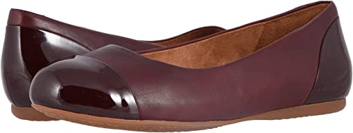 Dark Red Soft Napa/Patent
