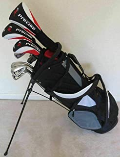 Sponsored Ad - Mens Golf Club Set Complete - Driver, Fairway Wood, Hybrid, Irons, Putter & Stand Bag - All Graphite Shafts