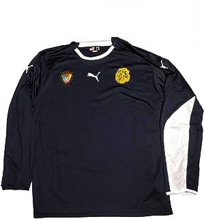 PUMA Kamerun Goalkeeper Shirt Gr XL Torwart Cameroon blå jersey 730796