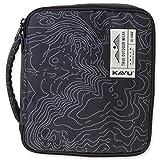 KAVU Lifesaver Backpack, Black Topo, One Size