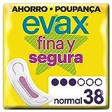 Evax Fina y Segura Normal Compresas - 38 Compresas