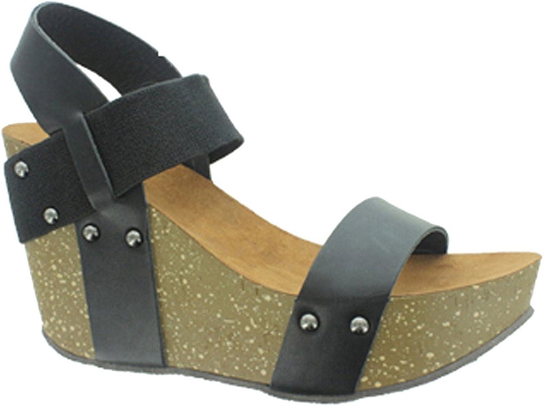 Pierre Dumas Women's Ellie 1 Synthetic Sandals