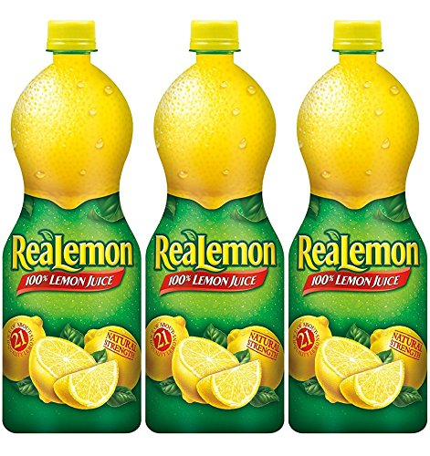 ReaLemon Lemon Juice - 32 Oz, (Pack of 3)