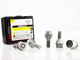 Butzi Anti Theft Car Locking Wheel Tyre Alloy Nuts Bolt Keys Fits Chevrolet Astro//Avalanche//Camaro//Tahoe 14x1.50