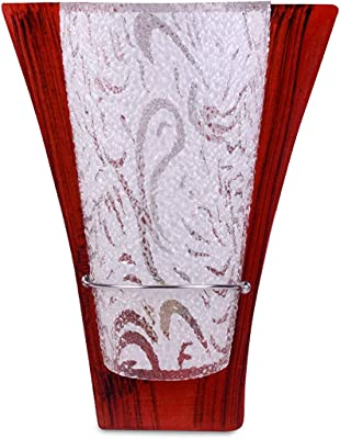 Rosh Wooden Glassy uplighter