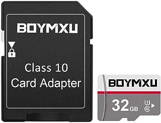TF Memory Card 32GB,BOYMXU TF Card with Adapter,High Speed Memory Card Class 10 TF Card Memory Card for Phone Camera Compu...