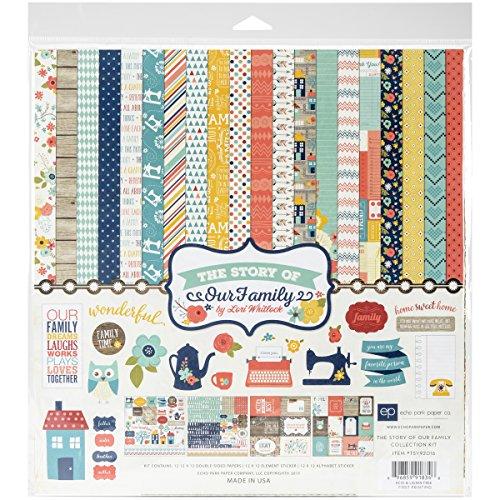30,5 x 30,5 cm Echo Park Paper JBY119016 Sammelset Mehrfarbig