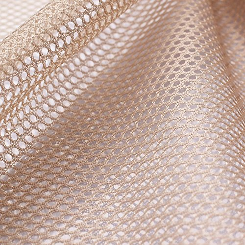 Insektenschutz - Fliegengitter - Schutznetze - Baldachin - Mückenschutz - Stoff - Meterware - (beige)