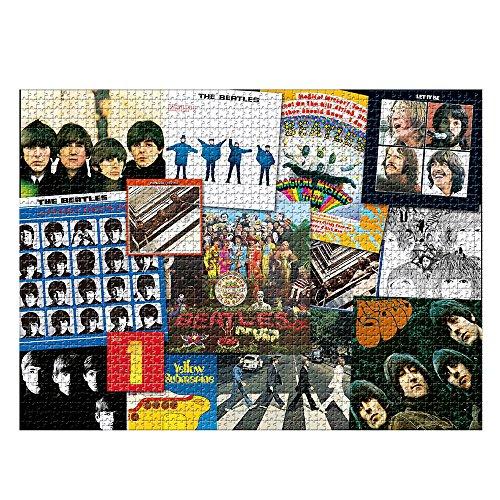 Jogo Quebra Cabeça The Beatles 2000 Peças Brinquedos Estrela Multicor