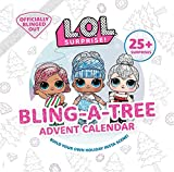 L.O.L. Surprise! Bling-a-Tree Advent Calendar: L.O.L. Gifts for Girls Aged 6+ Lol Surprise Trim a Tree Craft Kit 25+ Surprises