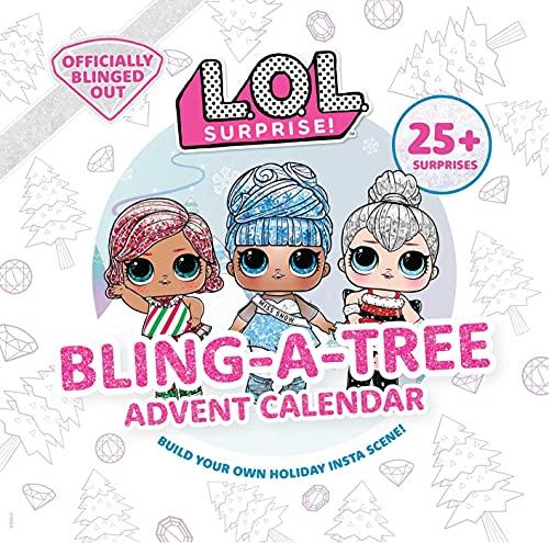 L.O.L. Surprise! Bling-A-Tree Advent Calendar: (Lol Surprise, Trim a Tree, Craft Kit, 25+ Surprises, L.O.L. for Girls Aged 6+)