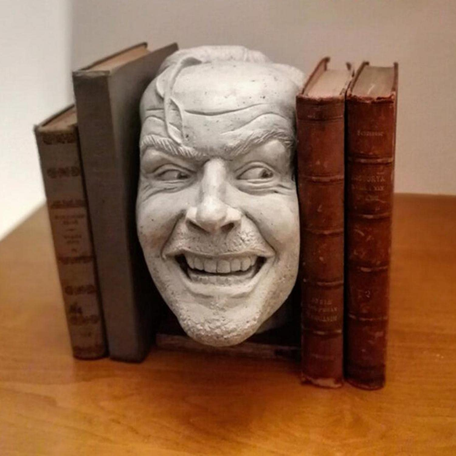 Decorative Bookends ''Here's Johnny'' Bookend Over item handling Popularity of The Sculpture