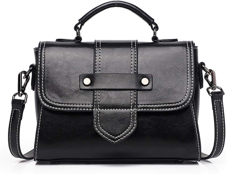 Shiduoli Damen Lederhandtaschen Geldbörsen Handtaschen Umhängetaschen Umhängetaschen (Farbe (Farbe (Farbe   schwarz) B07KHSKHJN  Angemessene Lieferung und pünktliche Lieferung 907cfa