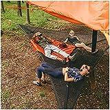 Hamaca para acampar, hamaca portátil para varias personas, hamaca triangular al aire libre para niños, tienda de campaña en el cielo de la casa del árbol, para mochileros, viajes, patio trasero