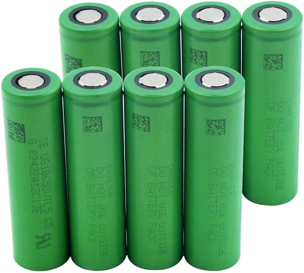 3.7V 2600Mah Vtc5 18650 discount Li-Ion Replacement 8Pieces for Free Shipping New F Battery