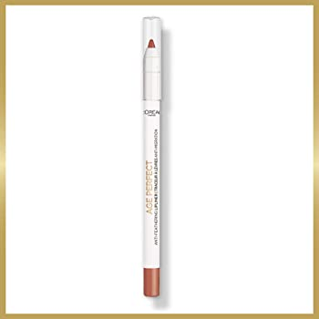 L'Oreal Paris Age Perfect Anti-Feathering Lip Liner, Bright Mocha