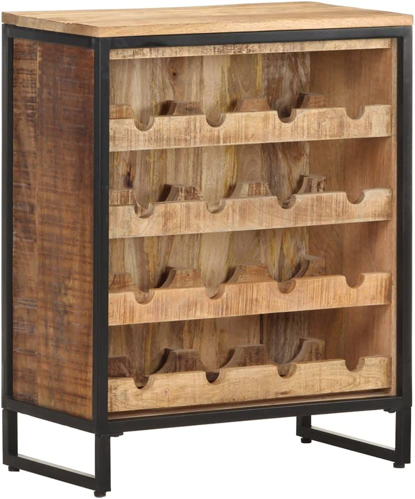 Warmliving Free Standing Water Bottle Our shop most popular and Bar Max 70% OFF Rack Wooden Wine C