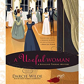 A Useful Woman audiobook cover art