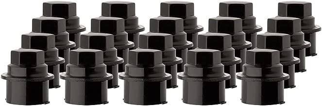 DPAccessories CC-3B-P-OBK05020 20 New Black Plastic Wheel Lug Nut Caps - Replaces GM 9593028/9593228 Wheel Lug Nut Cap